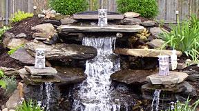 Водойми та водоспади